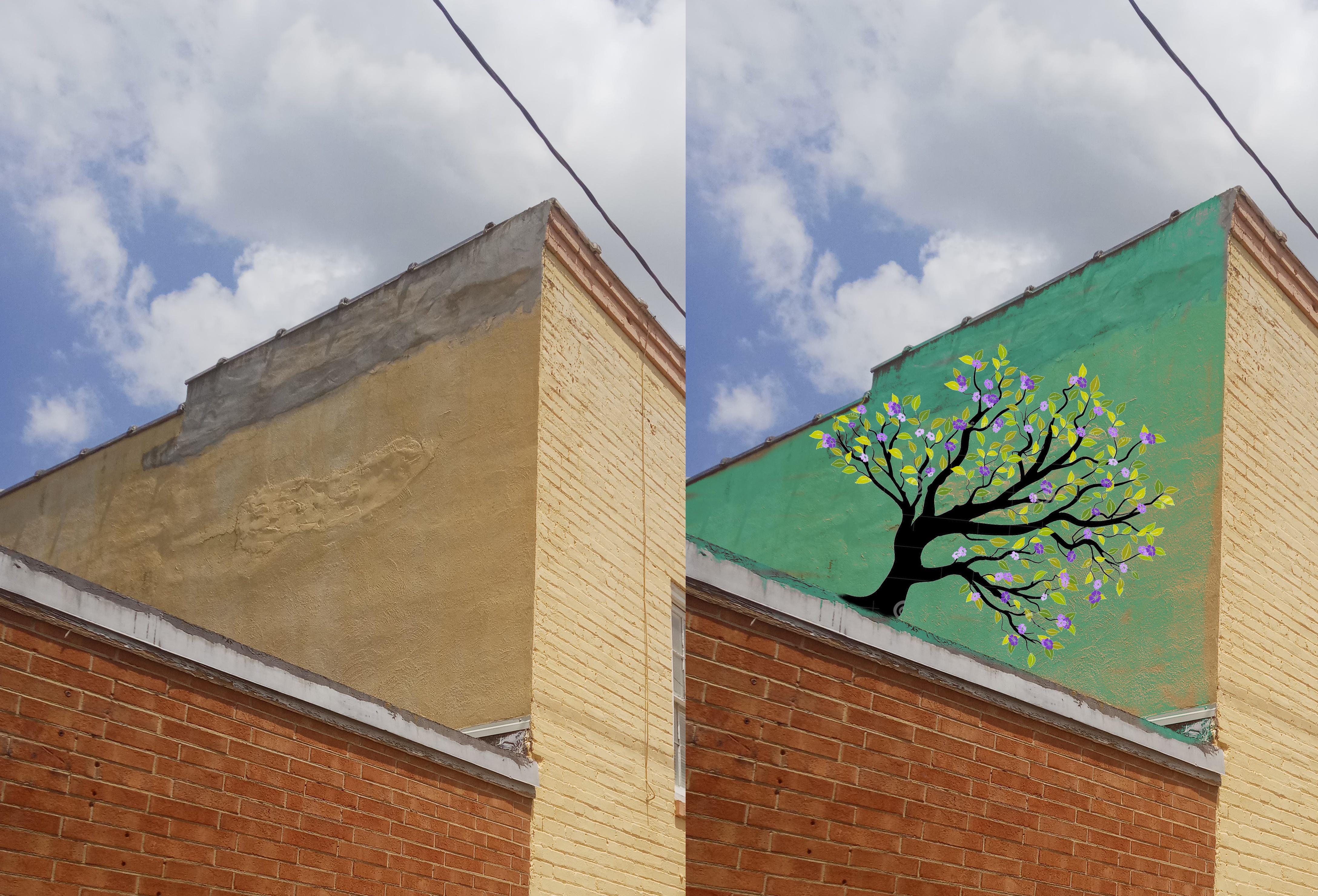 treehouse-treemural